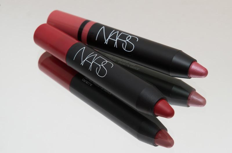 Velvet Matte Lip Pencil Cruella (Nars) & Saint Lip Pencil Rikugien (Nars) by Cantinho da Tarsi