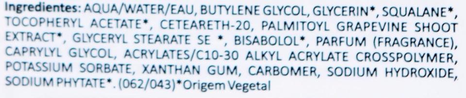Serum ingrediente