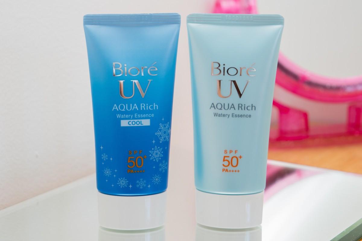 Favorito da vida: Protetor Solar da Bioré - UV AQUA Rich Watery Essence SPF 50+
