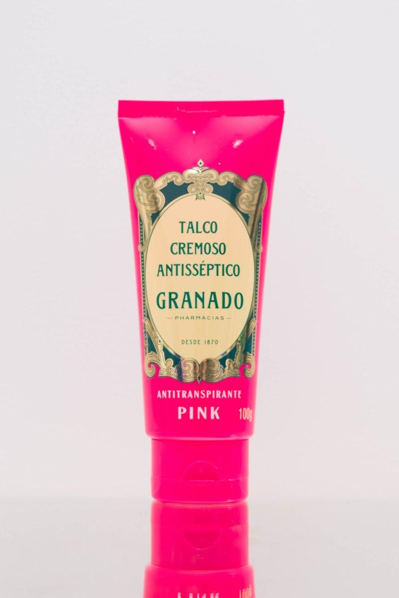 Xô Chulé: Talco Cremoso Antisséptico - Granado