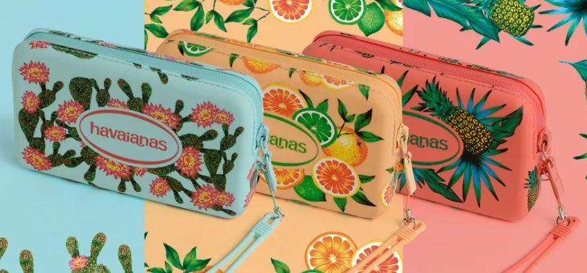 Havaianas - Mini Bolsa Estampada by Cantinho da Tarsi