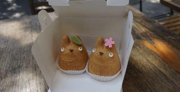 Choux Cream Totoro by Cantinho da Tarsi